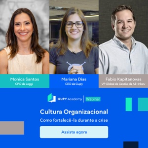 Webinar cultura organizacional na crise