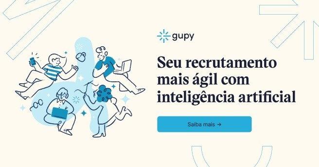Banner Inteligência Artificial da Gupy