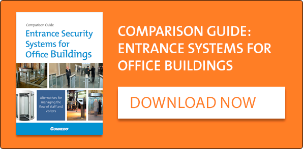 Download Comparison Guide to Entrance Systems for Office Buildings