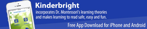 Download the free Kinderbright App