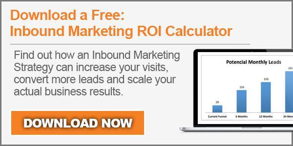 Inbound Marketing ROI Calculator