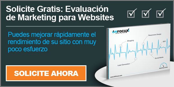Solicite Evaluacion de Marketing para Websites