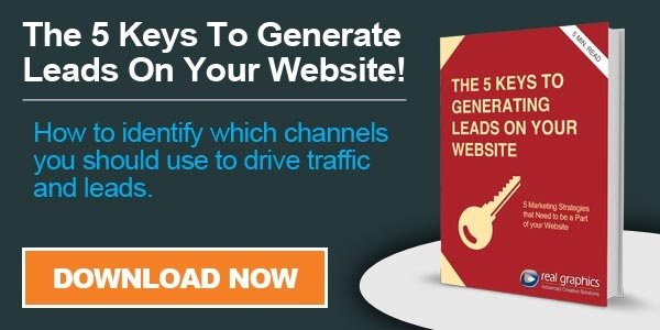 Ebook - 5 Keys To Generate Leads On Your Website -  Download