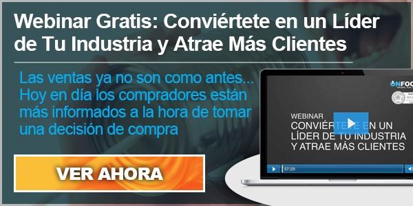 Webinar - Conviertete en Lider Domina la Industria y Atrae Mas Clientes