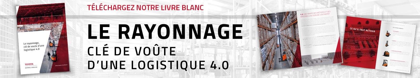 Livre blanc rayonnages | Manutention | Toyota Material Handling