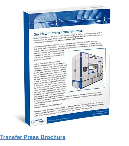 Transfer Press Brochure