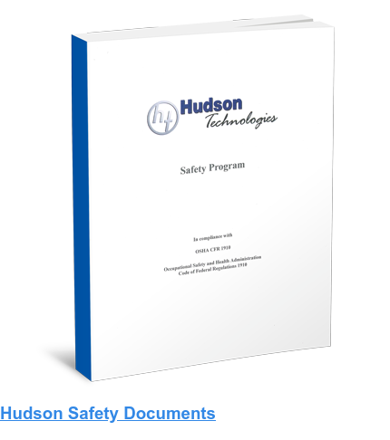 Hudson Safety Documents
