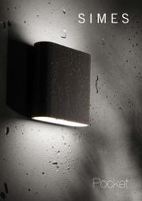 Pocket outdoor wall mounted luminaire