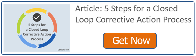 5 Steps for a Closed Loop Corrective Action Process