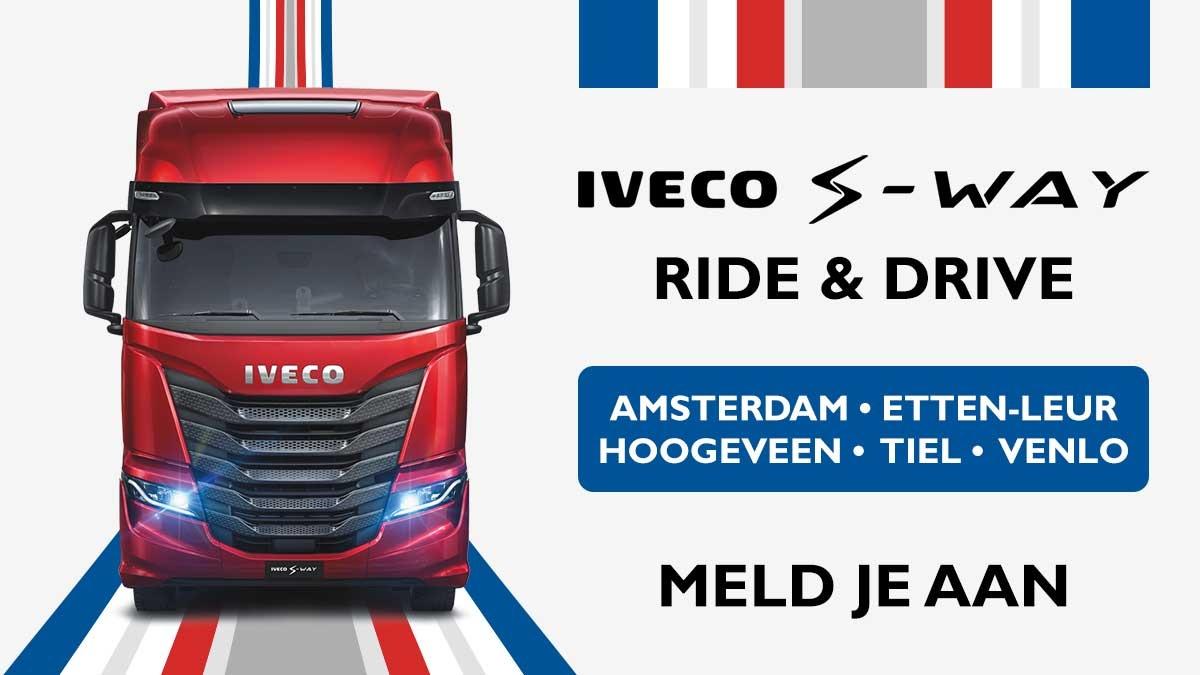 IVECO S-WAY Ride & Drive