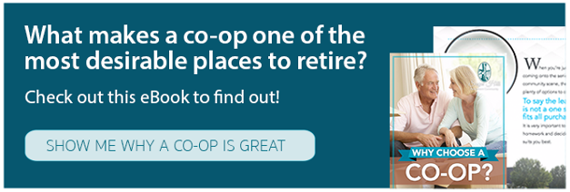 What makes a co-op one of the most desirable places to retire?
