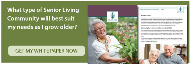 Making an informed senior living decision.