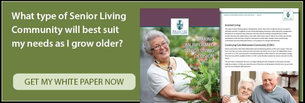 Making an informed senior living decision.