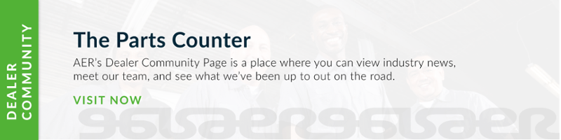 The Parts Counter - AER Dealer Community Page
