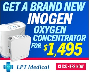Get a Brand New Inogen Oxygen Concentrator for $1495