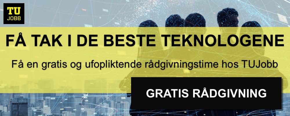 Book gratis rågivningstime for å få tak i de beste teknologene