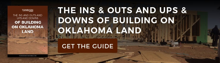 Get the Guide - The Ins & Outs and Ups & Downs of Building On OK Land