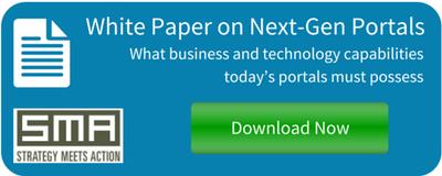 White Paper on Next-Gen Portals