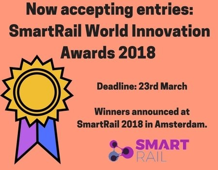 SmartRail World Innovation Awards 2018 - Now accepting entries.