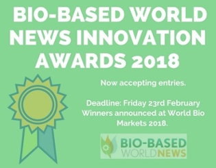 Bio-Based World News Innovation Awards 2018