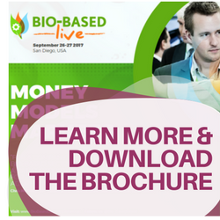 Learn more about Bio-Based Live and download the 2017 brochure today