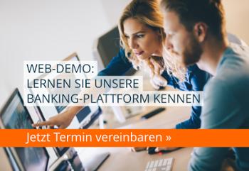 Web-Demo: Lernen Sie unsere Banking-Plattform kennen