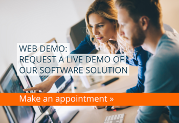 Web demo: Request a live demo of our software solution