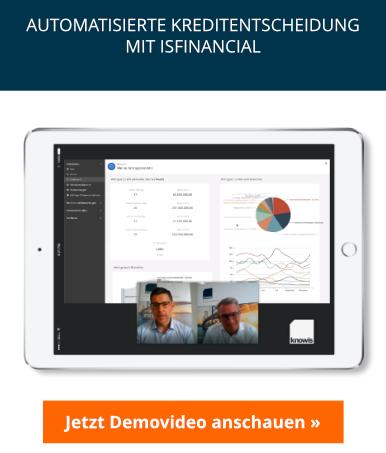Live-Demo isfinancial: Automatisierte Kreditentscheidung