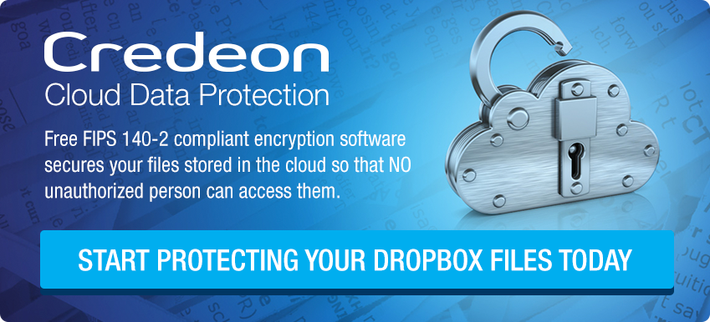 Credeon Cloud Data Protection for Dropbox