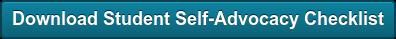 Download Student Self-Advocacy Checklist