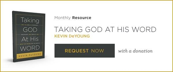Request Taking God at His Word