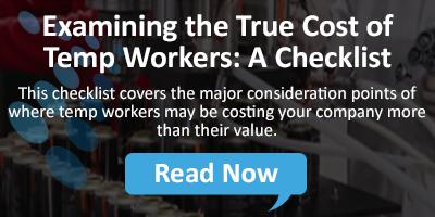 Examining the Profitability of Tempo Employees: A Checklist