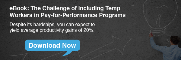 The Challenge of Including Temp Workers in the Pay-for-Performance eBook