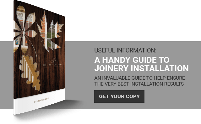 Salisbury Joinery's Handy Guide to Joinery Installation