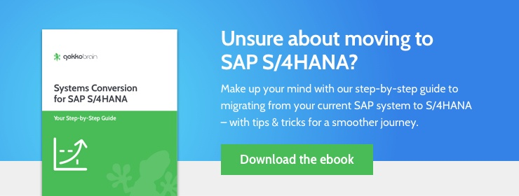 Ready to migrate to S/4HANA? Book your free assessment