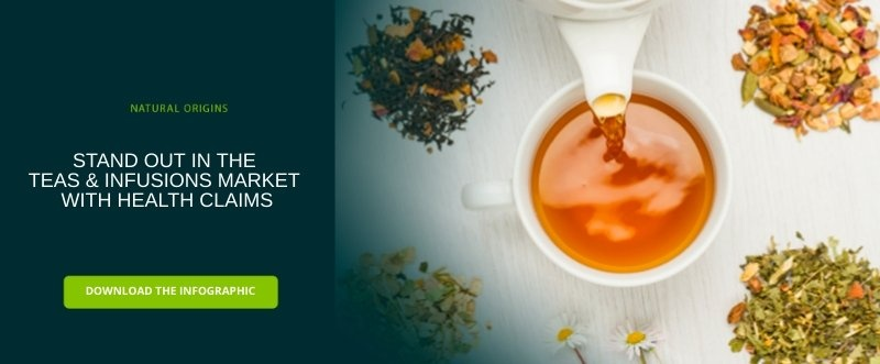 stand out in the teas and infusions market with health claims