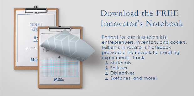 Download the FREE Innovator's Notebook!
