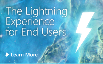 The Lightning Experience for End Users
