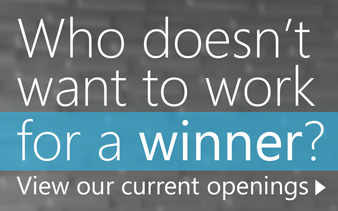 Who doesn't want to work for a winner?
