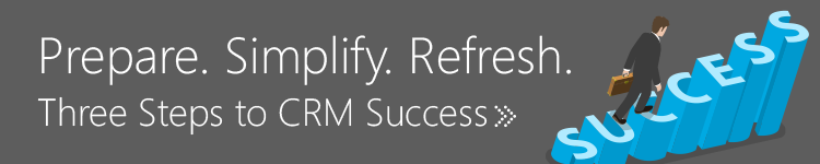Three Steps to CRM Success