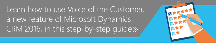 Learn how to use Voice of the Customer in this guide