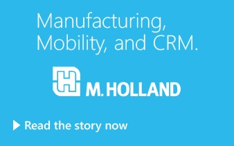 Manufacturing, Mobility, and CRM.