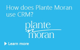 How does Plante Moran use CRM?
