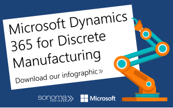 Download our infographic on D365 for manufacturing