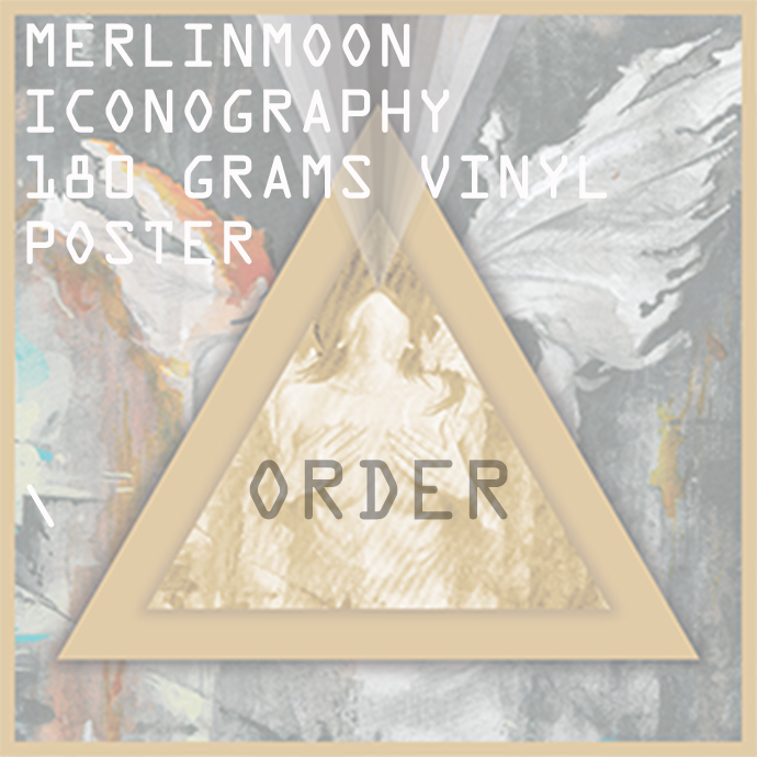 ORDER MerlinMoon - ICONOGRAPHY 180 grams Vinyl
