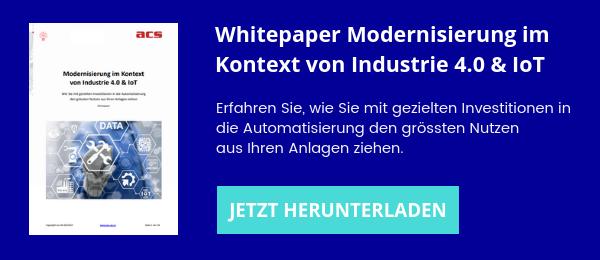 Whitepaper Modernisierung Industrie 4.0 & IoT