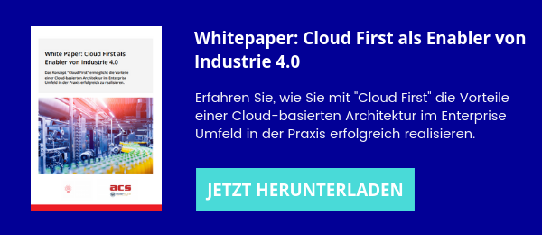 Whitepaper Cloud First