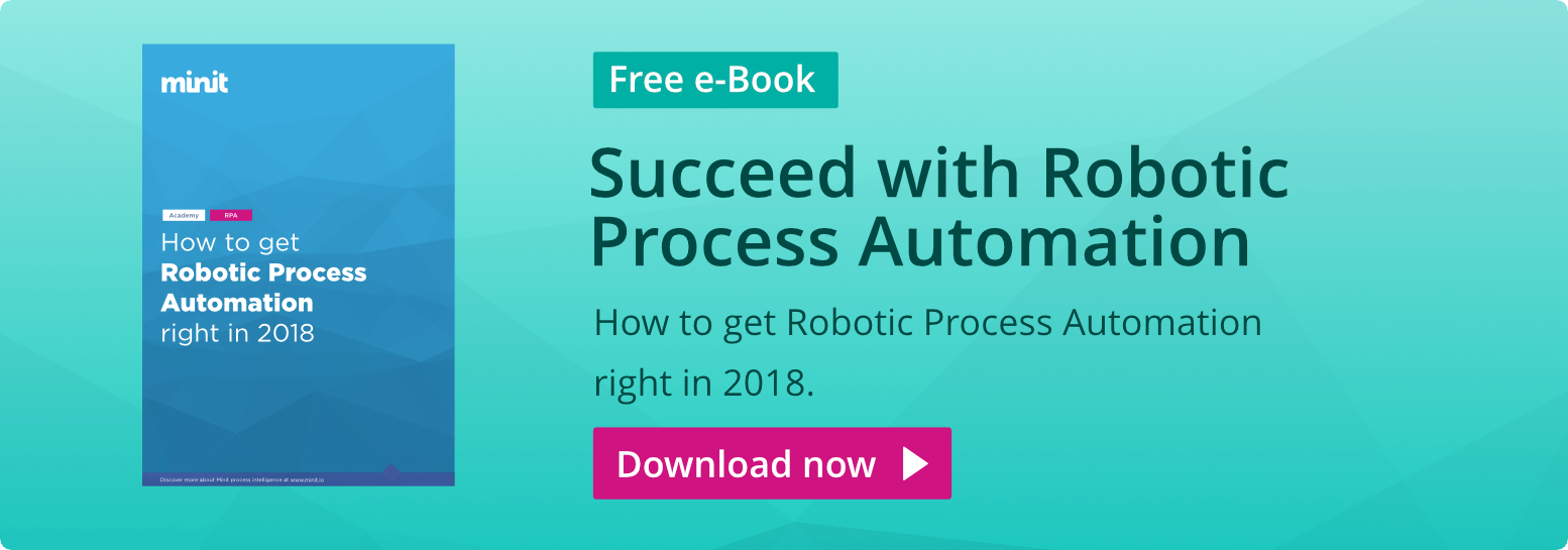 Robotic Process Automation (RPA) with Minit Process Mining