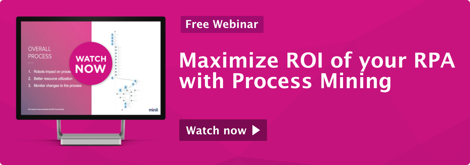 Maximize ROI of your RPA with Process Mining Call-To-Action