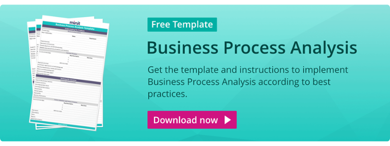 [FREE TEMPLATE] Business Process Analysis